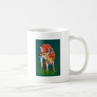 Geheime Rotwild-Kitz-wild lebende Tiere Kaffeetasse