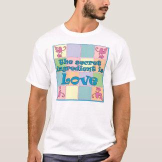 Geheime Zutat (blau) T-Shirt