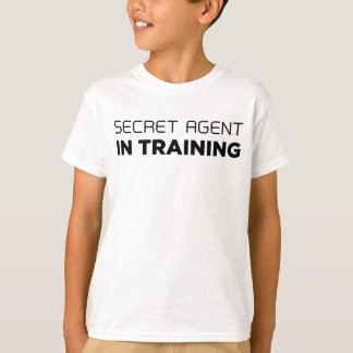 Geheimer Agent im Trainings-T - Shirt
