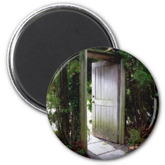 Geheimer Garten 1 Runder Magnet 5,1 Cm