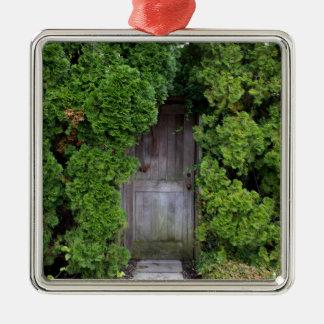 Geheimer Garten 2 Silbernes Ornament
