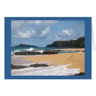 Geheimer Strand Kauai Hawaii Karte