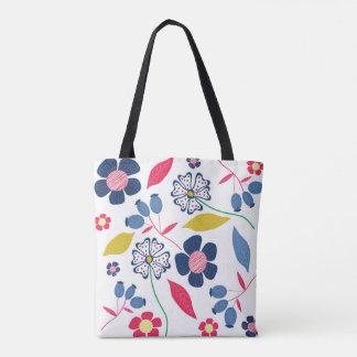 Geheimnis der Jahreszeit-Taschen-Tasche mit Blumen Tasche