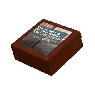 Geheimnis von voran erhalten geschenkbox