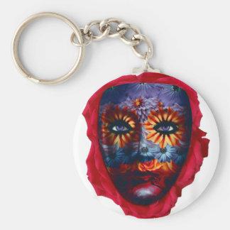 Geheimnisvolle Maske - Mystery Mask Schlüsselanhänger