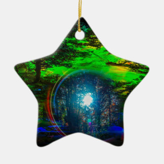 Geheimnisvolle Welt 8 Keramik Ornament