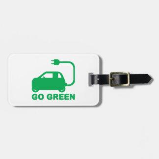 Gehen ~ Antriebs-elektrische Autos grüner Kofferanhänger