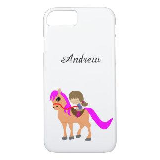 Gehen auf mein Pony iPhone 8/7 Hülle