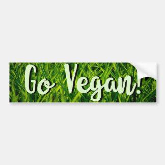 Gehen Autoaufkleber veganer