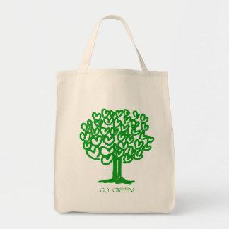 Gehen Bio Lebensmittelgeschäft-Taschen-Tasche