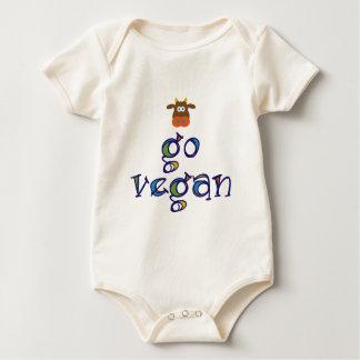 Gehen Bio veganes Baby Strampler