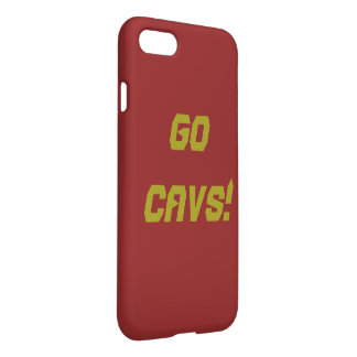 GEHEN CAVS! Clevelend Cavalierls IPhone Fall iPhone 8/7 Hülle