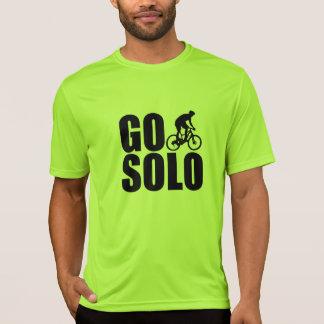 Gehen das Solo-Radfahren T-Shirt