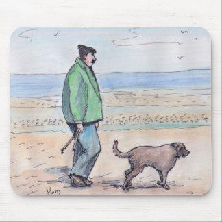 Gehen der Hund - 06 Mauspads