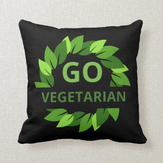 Gehen der Vegetarier, vegan, Kissen