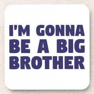 Gehen, ein großer Bruder zu sein Getränkeuntersetzer
