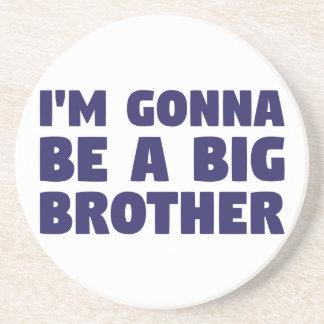 Gehen, ein großer Bruder zu sein Untersetzer