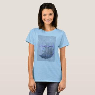 Gehen Fleck sich T-Shirt