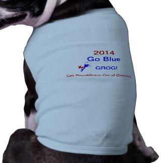 """""""Gehen"""" Grog blauer! Haustier-Shirt Shirt"""