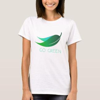 Gehen GRÜN lassen es geschehen T-Shirt