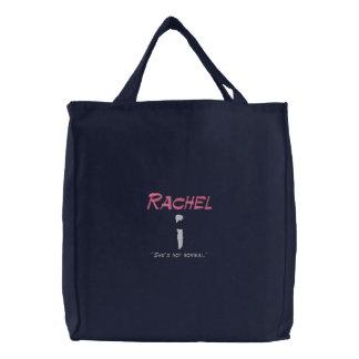 Gehen Grün! Lebensmittelgeschäft-Taschen-Tasche Bestickte Tragetasche