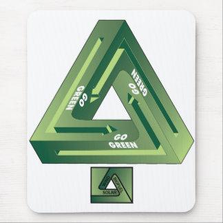 Gehen-Grün Mauspads