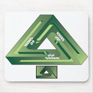 Gehen-Grün Mauspad
