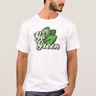 Gehen Grün T-Shirt