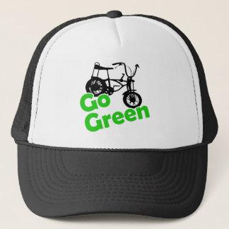gehen Grün Truckerkappe