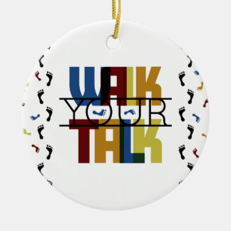 Gehen Ihr Gespräch #1 Keramik Ornament