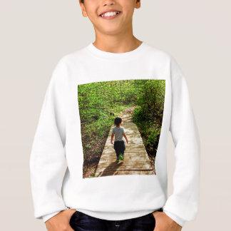 Gehen in die Zukunft Sweatshirt