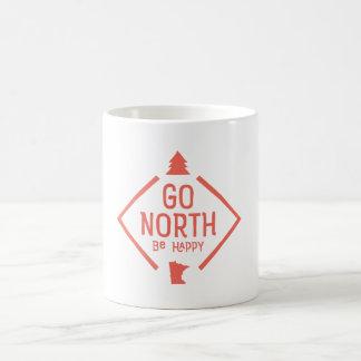 Gehen ist nördlich glücklich - Minnesota-Tasse Kaffeetasse