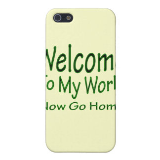 Gehen jetzt Zuhause grn iPhone 5 Schutzhüllen