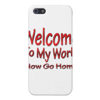 Gehen jetzt Zuhauserot iPhone 5 Hülle