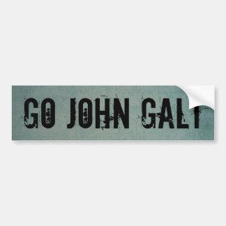 GEHEN JOHN GALT AUTOAUFKLEBER