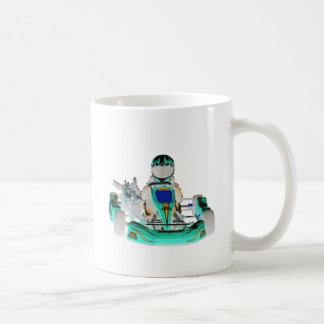 Gehen Kart Rennläufer umgekehrte Farbe Kaffeetasse