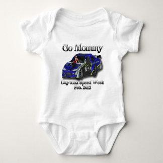 Gehen Mama Daytona Rennen-Woche 2012 Baby Strampler
