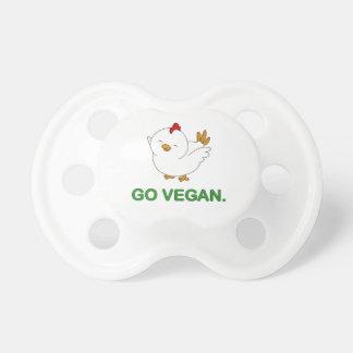 Gehen - niedliches Küken vegan Schnuller