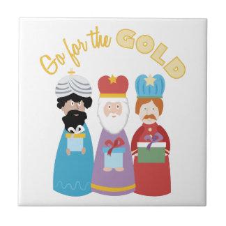 Gehen Sie für Gold Keramikfliese