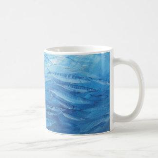 Gehen Sie mit dem Fluss Kaffeetasse