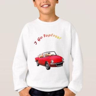 Gehen Sie schulterfrei Sweatshirt