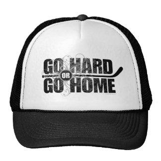 Gehen Sie stark oder gehen Sie Zuhause (Hockey) Mützen