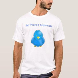 Gehen Sie tweeten sich T-Shirt