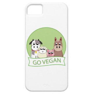 Gehen Sie vegan iPhone 5 Cover