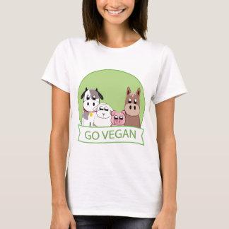 Gehen Sie vegan T-Shirt