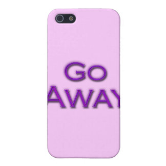 Gehen Sie weg Hülle Fürs iPhone 5