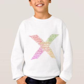 Gehen Sie weiter u. multiplizieren Sie Sweatshirt