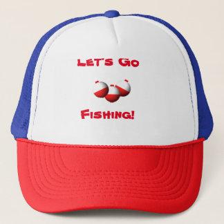 Gehen Sie zu fischen Truckerkappe