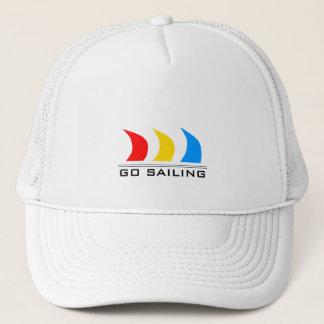 Gehen Sie zu segeln Truckerkappe