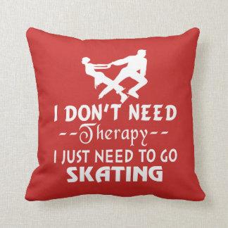 Gehen Skaten Kissen